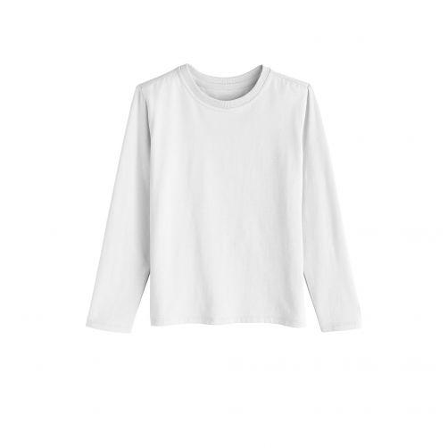 Coolibar---UV-Shirt-voor-kinderen---Longsleeve---Coco-Plum---Wit