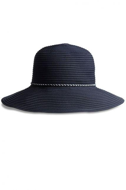 Coolibar---UV-bucket-hoed-voor-vrouwen---Marineblauw