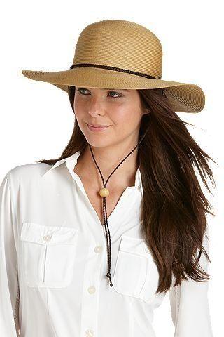 Coolibar---UV-zonnehoed-dames---natural