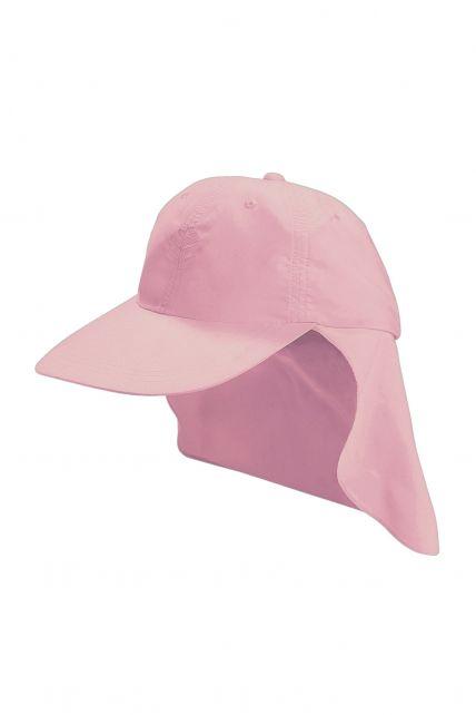 Coolibar---UV-sport-zonnepet-voor-kinderen---Roze