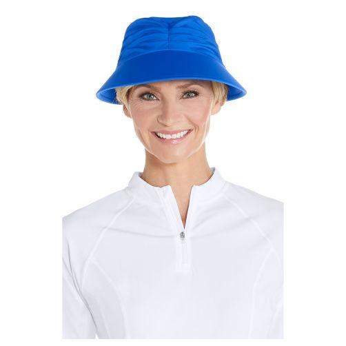 Coolibar---UV-zonneklep-voor-dames---Baja-blauw