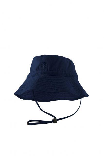 Coolibar---UV-zonnehoed-voor-kinderen---Donkerblauw