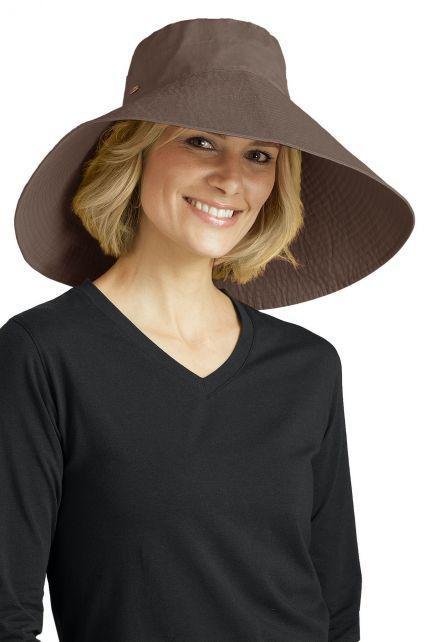 Coolibar---UV-flaphoed-dames---Mushroom