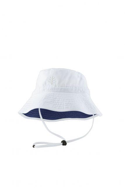 Coolibar---UV-zonnehoed-voor-kinderen---Wit