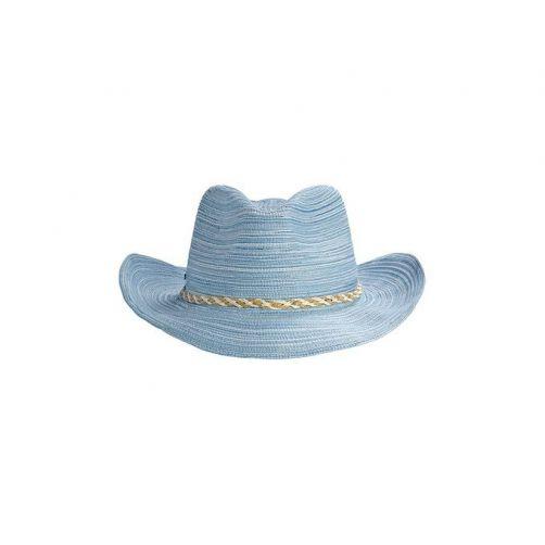 Coolibar---UV-Cowboy-hoed-voor-kinderen---Blauw
