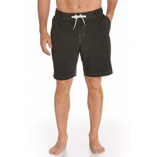 Coolibar---UV-zwemshorts-heren---zwart