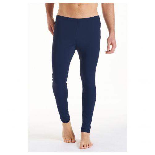 Coolibar---UV-stretch-zwembroek-voor-heren---donkerblauw