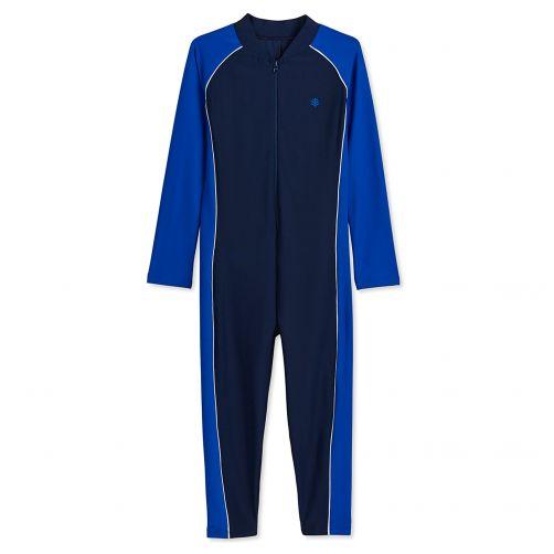 Coolibar---UV-pak-voor-kinderen---Lange-mouwen---Blue-Wave