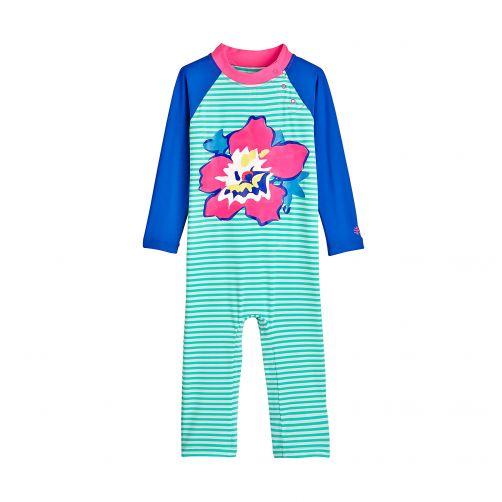 Coolibar---UV-zwempakje-voor-baby's---Tropical-Flower