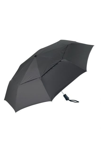 Coolibar---UV-paraplu-klein---zwart