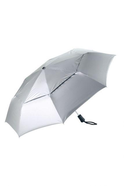 Coolibar---UV-paraplu-klein---Zilver