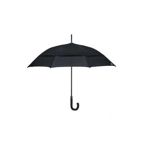Coolibar---UV-werende-Paraplu---Calotta-Fashion---Zwart