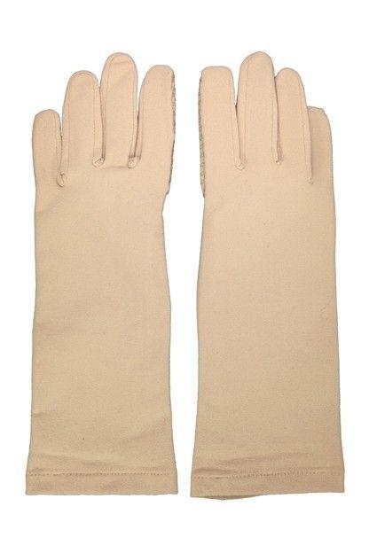 Coolibar---UV-handschoenen---Beige
