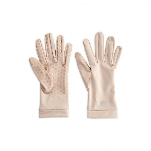 Coolibar---UV-handschoenen-unisex---Beige