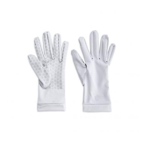Coolibar---UV-handschoenen-unisex---Wit