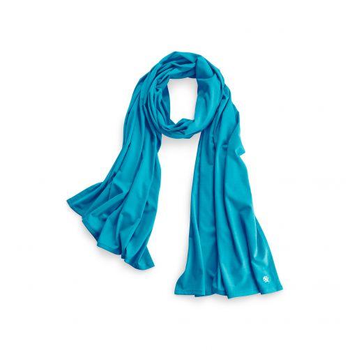 Coolibar---UV-sjaal---Turquoise