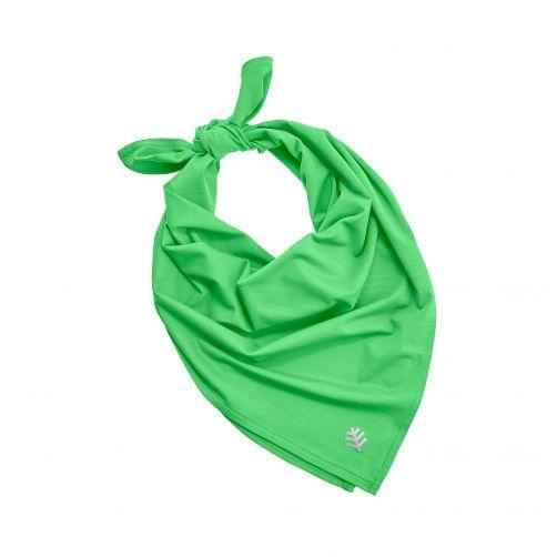 Coolibar---UV-beschermende-bandana---Lichtgroen