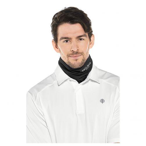Coolibar---UV-hals--en-hoofdbescherming-voor-dames-en-heren---zwart