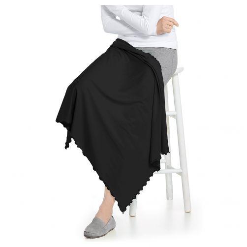 Coolibar---UV-deken-voor-dames,-heren,-kinderen,-baby's---zwart
