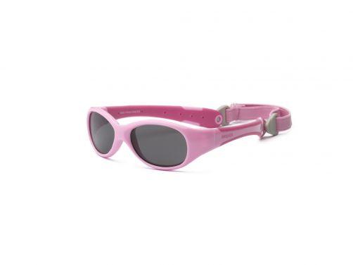 Real-Kids-Shades---UV-zonnebril-voor-baby's---Explorer---Roze/Felroze
