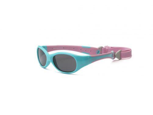 Real-Kids-Shades---UV-zonnebril-voor-baby's---Explorer---Aqua-/-roze