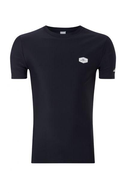 O'Neill---UV-shirt-met-korte-mouwen-voor-heren---Essential---Zwartgrijs