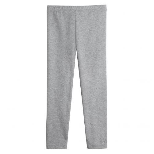 Coolibar---UV-legging-voor-meisjes---grijs