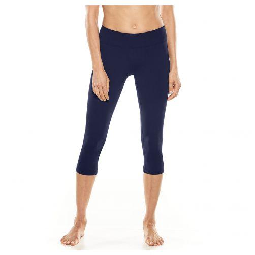 Coolibar---UV-zwemcapri-voor-dames---donkerblauw