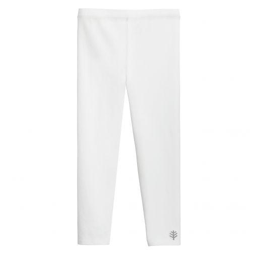 Coolibar---UV-Leggings-voor-kinderen---Monterey---Wit