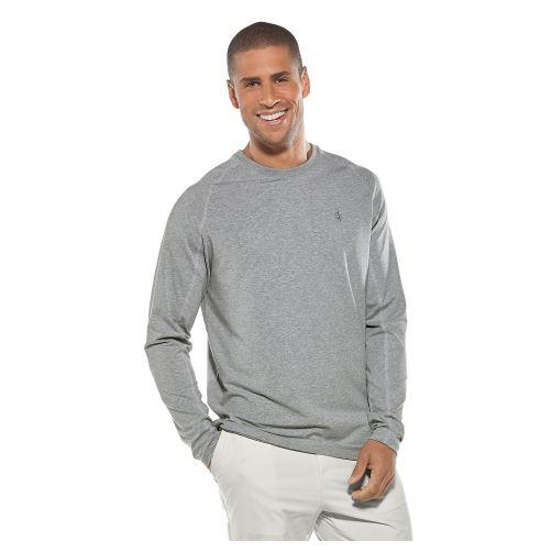 Coolibar---UV-shirt-voor-heren---grijs