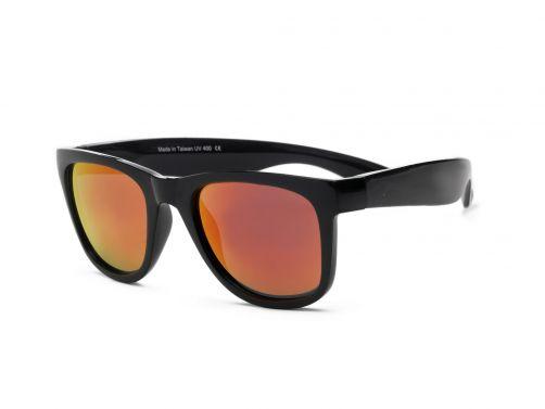 Real-Shades---UV-zonnebril---Unisex---Zwart-/-zwart-rood