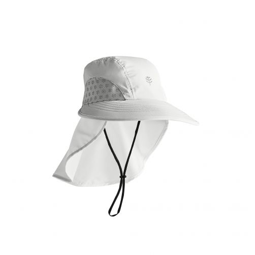 Coolibar---UV-hoed-voor-kinderen---wit