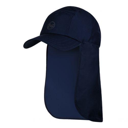 Buff---Bimini-UV-pet-voor-volwassenen-met-nekflap--Nachtblauw