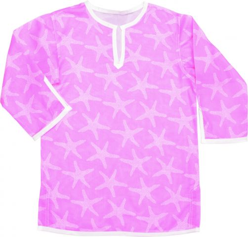 Snapper-Rock---Tuniek-voor-meisjes---Pink-starfish
