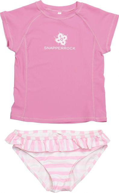 Snapper-Rock---UV-zwemset-voor-kinderen---roze-gestreept