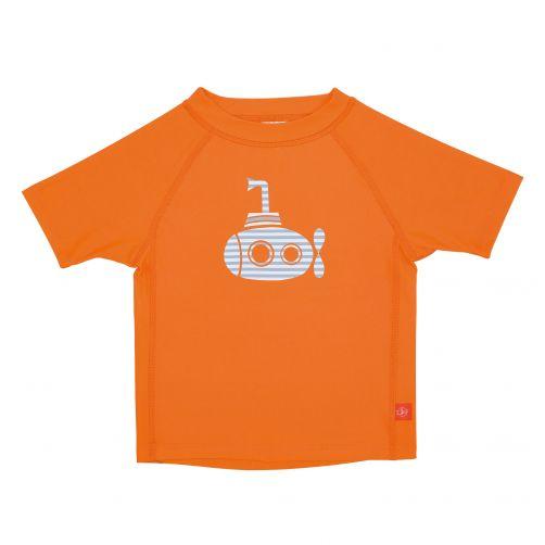 Lässig---UV-werend-zwemshirt-voor-kinderen-Submarine---Oranje