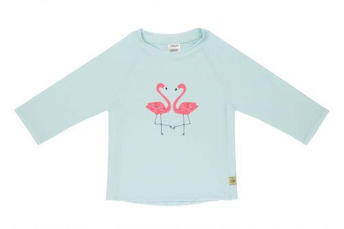 Lässig---UV-zwemshirt-lange-mouwen-meisjes---Flamingo---mint