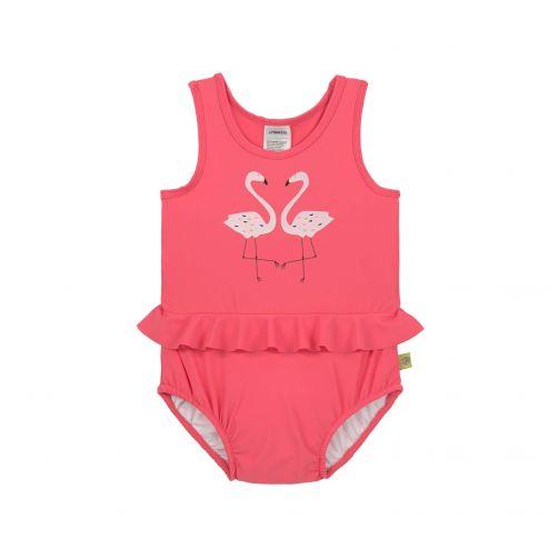 Lässig---UV-badpak-voor-meisjes---roze