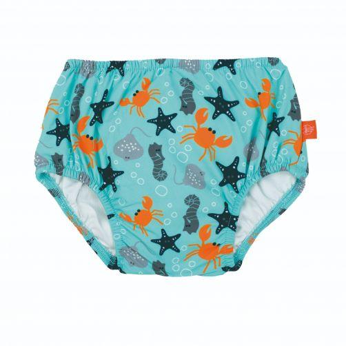 Lässig---Zwemluier-voor-baby's-Star-Fish---Lichtblauw