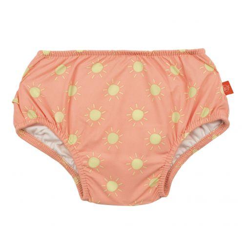 Lässig---Zwemluier-voor-baby's-Sun---Perzik/Geel
