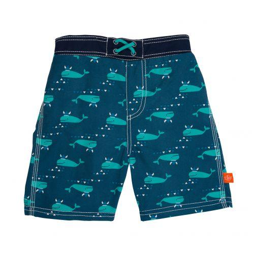 Lässig---Zwemshort-voor-jongens-Blue-Whale---Blauw