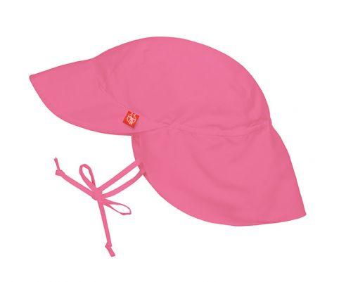 Lässig---Zonnepetje-met-flap-voor-kinderen---Roze