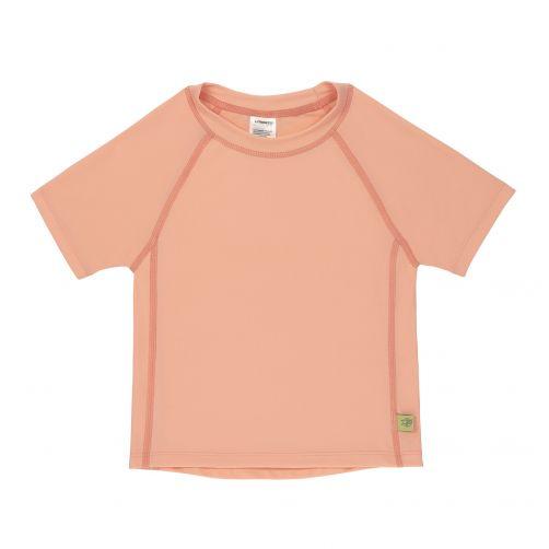 Lässig---UV-zwemshirt-voor-meisjes---perzikkleur