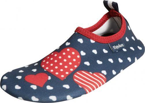 Playshoes---UV-waterschoenen-voor-meisjes---hartjes---multicolor