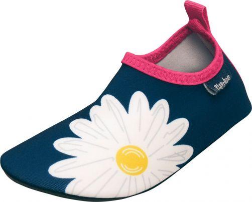 Playshoes---UV-waterschoenen-voor-meisjes---Margriet---Navyblauw/roze