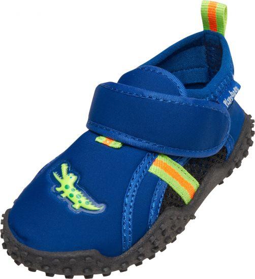Playshoes---UV-waterschoenen-voor-jongens---Krokodil---Blauw-/-groen