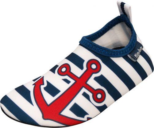 Playshoes---UV-waterschoenen-voor-kinderen---Maritiem---Blauw/wit/rood