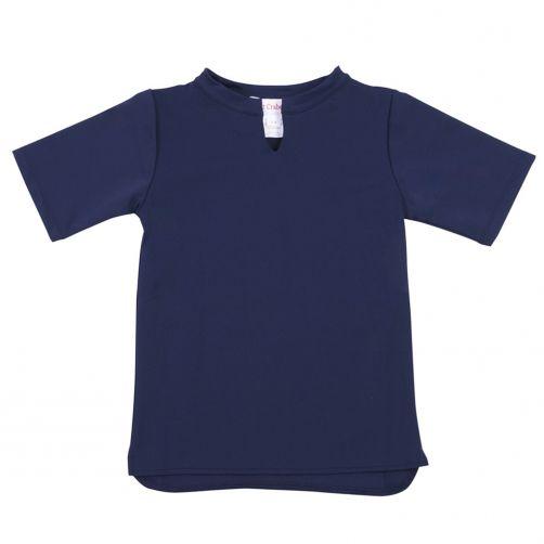 Petit-Crabe---UV-werend-shirt-korte-mouw---Ster---Donkerblauw