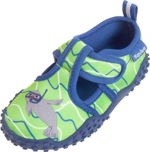 Playshoes---UV-waterschoenen-jongens-en-meisjes---zeehond---blauwgroen