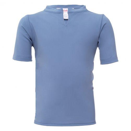 Petit-Crabe---UV-werend-shirt-korte-mouw---Chief---Lichtblauw